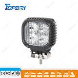 24V luz de conducción cuadrada impermeable de la motocicleta del punto LED