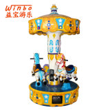 Carrusel agradable del juguete de los niños de la máquina del equipo del patio del diseño para la diversión de los cabritos (C11)