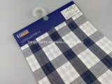 Пряжа покрасила проверку переплетенную Slub пряжи хлопка Fabric-Lz6544