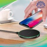 Qi Indicador LED do carregador rápido sem fios 10W carregador rápido para iPhone 8 / 8 Plus / Samsung Galaxy S8 / S8 Plus Universal Carregador de Telefone