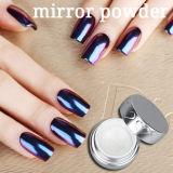 Polvere acrilica del pigmento del chiodo di effetto dello specchio di scintillio di Caldo-Vendita