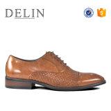 Новый дизайн пользовательских прочного кожаную обувь повседневный ручной работы