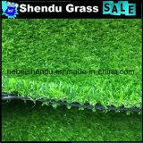 装飾のための緑色の30mmの庭の草のカーペット