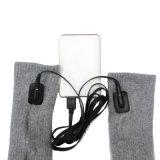 Meias eléctrico meias de algodão tricotado manter o aquecimento climático