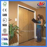 La quincaillerie de porte de placard réel de l'intérieur de grandes portes coulissantes Portes en bois