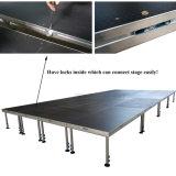 Fácil montaje de aluminio Portátil Cubierta de escenario para eventos