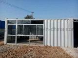 Casa pré-fabricada personalizada favorável ao meio ambiente do preço de fábrica