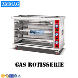 Grade comercial dos fornos de gás do motor do Rotisserie do BBQ da galinha do gás (ZMJ-3LE)