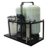 Emoliente Ion Exchange Sal-Baseado com tanques duplos e a válvula dupla