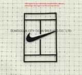 Impresión de transferencia de calor de silicona para personalizar el logotipo de marca de ropa