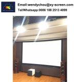 Высокое качество и широким углом обзора 16: 9 изогнутые неподвижной рамкой проекционного экрана для дома