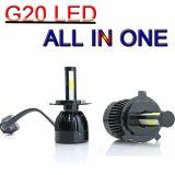 Новые микросхемы початков G20 Car LED фары лампы фары H4 80W 8000лм