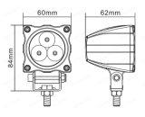 Lumière neuve 9W de travail de pouce DEL du rond 2.4 de Lmusonu