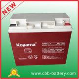 batteria al piombo di 12V20ah VRLA/manutenzione libera/batteria ricaricabile dell'UPS