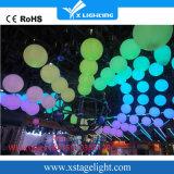 中国の製造業者のディスコの照明RGBナイトクラブのための多彩な照明上昇LEDの球の使用