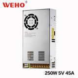 Weho S-250W 5V 50A Stromversorgung mit Kühlventilator