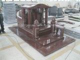 Monumento vermelho imperial indiano do chinês do granito