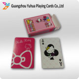 O póquer plástico feito sob encomenda dos cartões de jogo com projeta