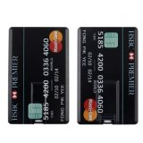 O OEM Brindes Promocionais Cartão de crédito a unidade Flash USB de 1GB