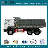 特別な採鉱のDumpboxのSinotruk HOWO 6X4のダンプトラック