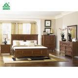 Brown-stellen englische Art-Hotel-Schlafzimmer-Möbel schönen Luxus ein