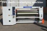 Máquina auto/Rewinder el rebobinar de los ejes de la cinta dos de BOPP