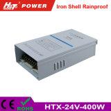 24V 16A 400W 철 방수 LED 가벼운 표시판 Htx