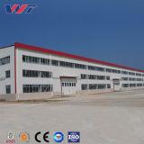 Двойное здание мастерской структуры наклона Pre проектированное стальное
