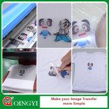 Película imprimible del traspaso térmico del color ligero de Qingyi Niza para la ropa
