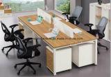 鋼鉄足の粉のコーティングのオフィス用家具の線形事務机