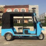 4개의 치기를 가진 6명의 전송자 택시 전송자 세발자전거 인력거