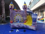 Castello di salto gonfiabile commerciale usato tela incatramata del PVC di Guangzhou combinato