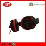 auricular estéreo atado con alambre 3.5mm&USB del juego