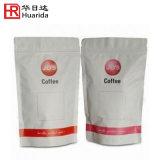 Fermeture à glissière refermable Stand up des grains de café de l'emballage avec sac ziplock
