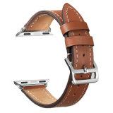 Appleの腕時計シリーズ3シリーズ2バンドのためのレトロ型の本革のIwatchストラップの置換