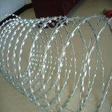 ステンレス鋼アコーディオン式かみそりの有刺鉄線