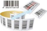Пользовательский код-128 липких этикеток штрих-кодов