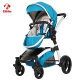 Einfach zu setzen oder niederzulegen, faltbarer Baby-Spaziergänger