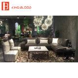 Zeitgenössische Möbel-modernes ledernes Sofa-Set