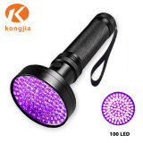 Luz negra Linterna ultravioleta mejor Scorpion Blacklight 100 UV LED Linterna