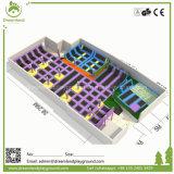 Terrein van de Trampoline van de Merken van de Fabriek van China het In het groot Hoogste Professionele Bedrijven Grote Binnen