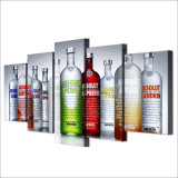 HD Print 5 Part Canvas Art Absolut Vodka Paintings for Living room Room Wall Home Decoration