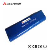 batería de litio recargable del paquete LED de la batería de 7.4V 6600mAh 18650