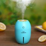 Difusor bonito e encantador do humidificador colorido do limão do aroma