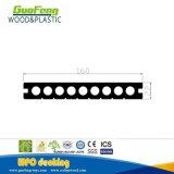 Decking 22*160mm напольных материалов более дешевый WPC украшения WPC составной полый