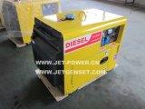 3Квт с водяным охлаждением воздуха бесшумный дизельный генератор небольшой портативный генератор