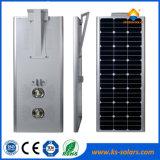 50W太陽電池パネルが付いている統合された太陽LEDの街灯