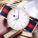 La mode des montres à quartz en acier inoxydable des hommes et dames de l'OTAN-1053 DW Watch (DC)