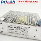 Entrée 90-264VAC de large éventail au bloc d'alimentation Hrsc-100-5 de commutation de C.C 100W 5V 16A