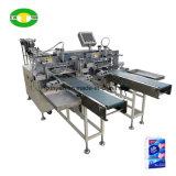 Facial automático un pañuelo de papel cartón y película PE Embalaje Precio de la línea de producción